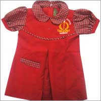 Baby Girl School Tunic Uniform in  Ismailganj