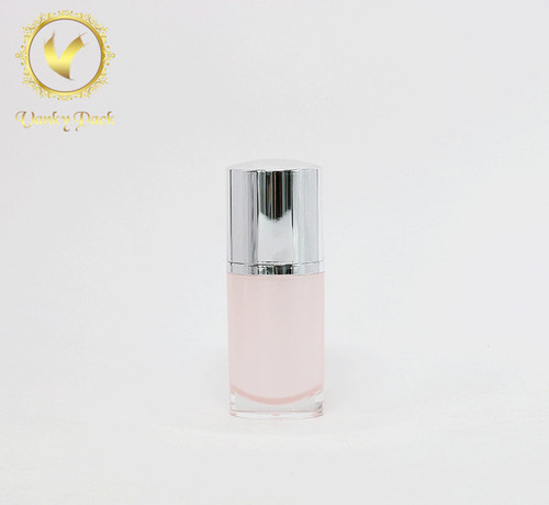 High Quality Eco Friendly Acrylic Plastic Cosmetic Packing Bottle