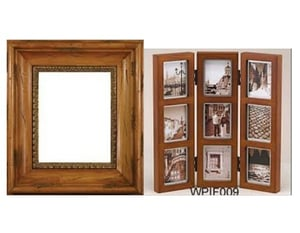 Wooden And Iron Mirrors Frame