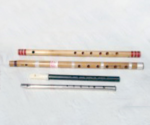Wooden Black-1 Flutes Body Material: Wood