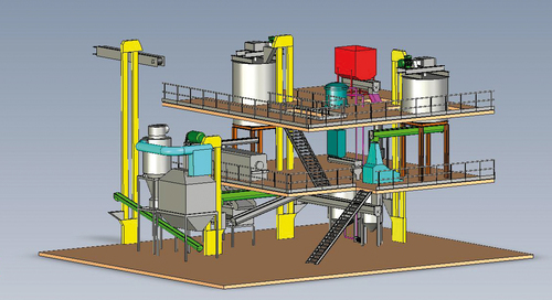 Fish Feed Plant in   Focal Point