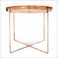 Fine Quality Copper Metal Table
