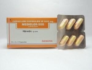 Cefaclor Capsules Ip 500mg