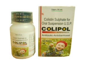 Colistin Sulphate For Oral Suspension