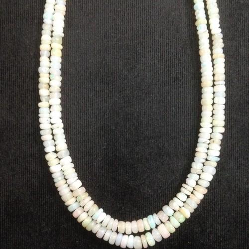 Ethopian Opal Plain Rondells