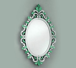 Round Large Decorative Venetian Mirrors
