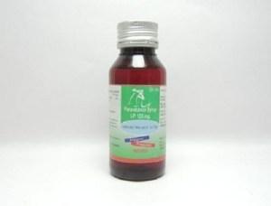 Paracetamol Syrup Ip 125mg