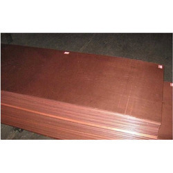 Bare Copper Earthing Plate