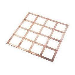 Copper Lattice Ground Earth Mat