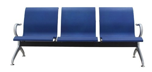 New Arrival Modern 3-Seater Blue Airport Waiting Chair