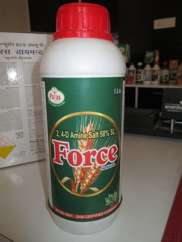 2,4-D Aine Salt 58% SL Force Herbicide