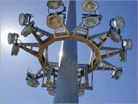 Robust High Mast Lighting Poles