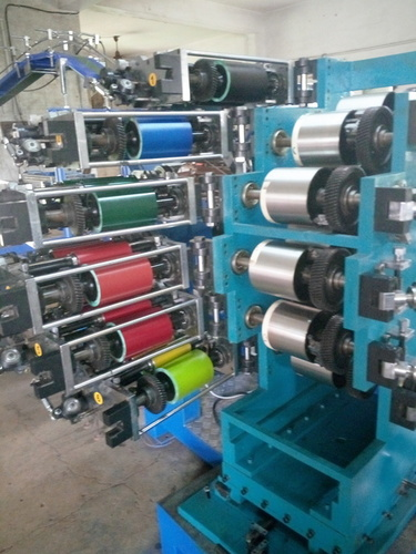 6 Color Printing Machine