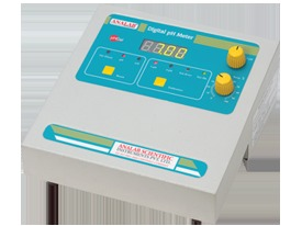 pH / mV / ºC Analyzer Model µpHCal5 Two Point Calibration