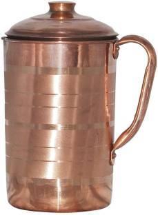 1200 Ml Pure Copper Finished Jug