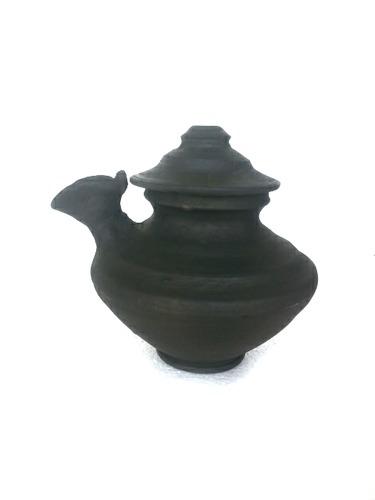 Terracotta Clay Brown Ghee Vadi