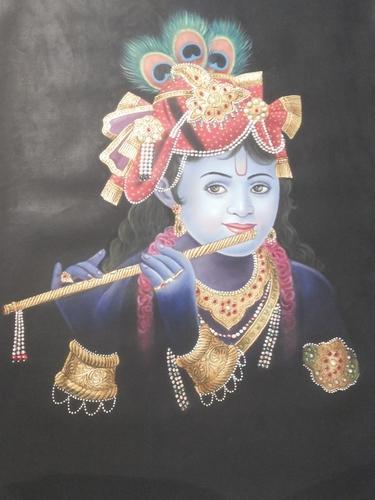 Krishna Oil Painting