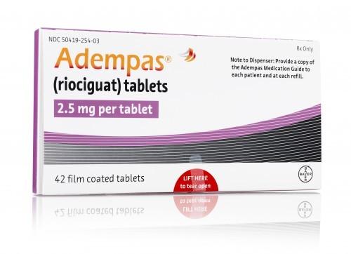 Adempas 2.5 Mg 42 Tablets