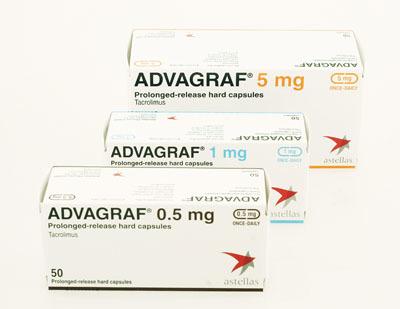 Advagraf 0,5 Mg And 1 Mg 50 Capsules