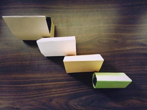 Cake Packing Paper Boxes