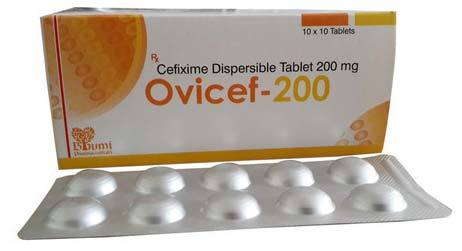 Cefixime 200mg Tablets in  Ajwa Road  (Vdr)