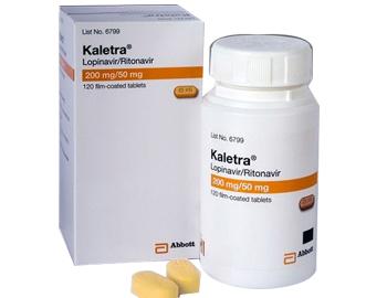 Kaletra 200/50 Mg 120 Tablets
