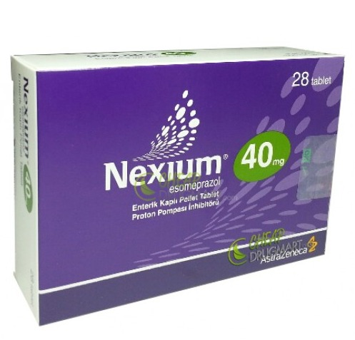 Nexium 40 Mg And 20 Mg 28 Tablets