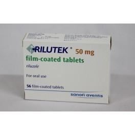 Rilutek 50 Mg 56 Tablets