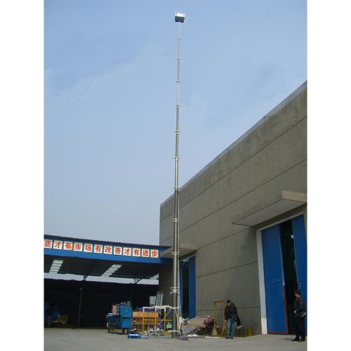 18m Lockable Pneumatic Telescopic Mast 30kg Payloads
