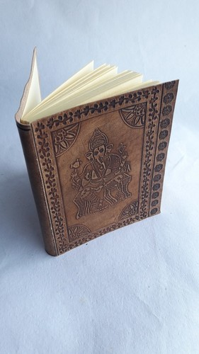 Ganesh Embossed Leather Diaries