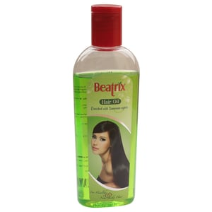 Hair Oil Enriched With Sunscreen Agents