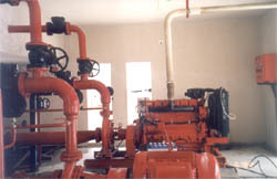 Diesel Engine Driven Hydrant Pump