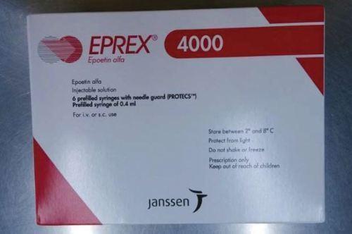 Eprex 4000 Iu / 0 4 Ml 6 Syringes