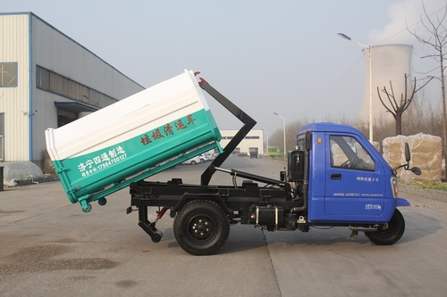 Hook Loader Bins Dumper Placer at Best Price in Jining