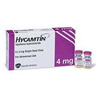 Hycamtin 4 Mg Vials