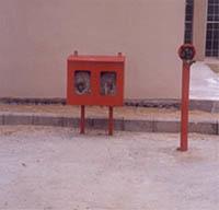 Hydrant Post Hose Box
