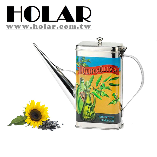 [Holar] 100% Taiwan Made Rectangle Shaped Oil Can With Stainless Steel