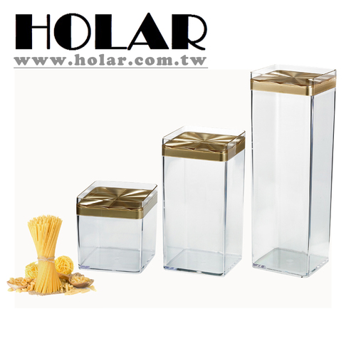 Holar Taiwan Made Plastic Clear Food Storage Containers for Candy