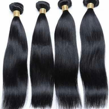 Natural Black Remy Hair in  S.K. Dev Road