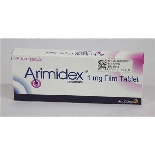 Arimidex 1 Mg 28 Tablets
