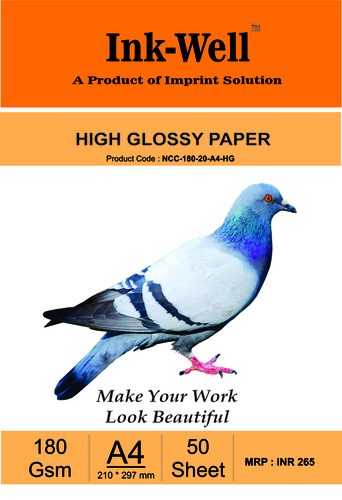 Glossy Photo Paper Cast Coated