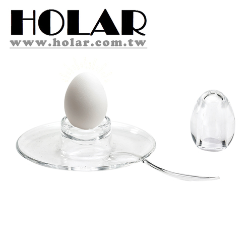 Kitchen Salt Shaker And Egg Plate And Spoon Set