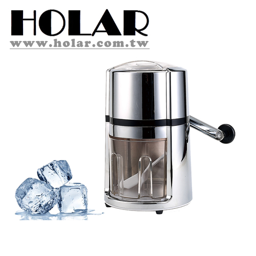 Portable Hand Crank Ice Crusher With Acrylic