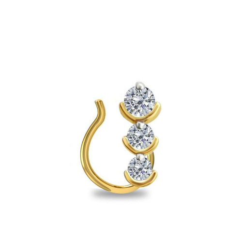 Diamonds Nose Pin At Price 59 Usd Piece In Surat Sheetal Impex