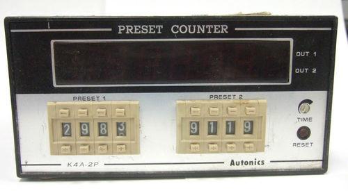 Preset Counter
