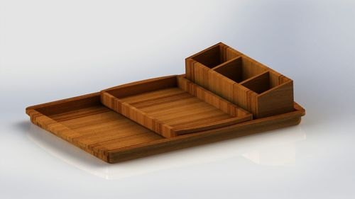 Durable Wooden Serving Trays