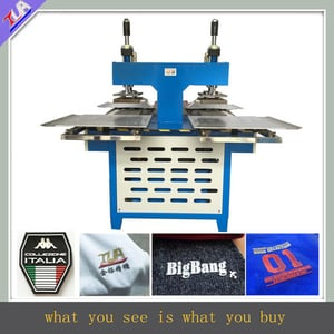 Silicone Label Embossing Machine