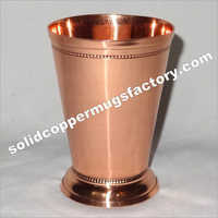 Solid Copper Metal Mint Julep Cup
