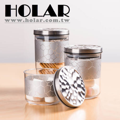 Made Rose Gold Silver Food Storage Containers With Acrylic