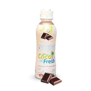 Natural Frozen Tender Coconut Shake With Fresh Chocolate